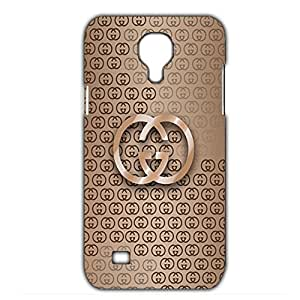 Bling Gucci Luxury Logo Black Background Customized Thin Durrable Plastic 3D Case Cover L6M125 For Samsung Galaxy S4 mini_3D