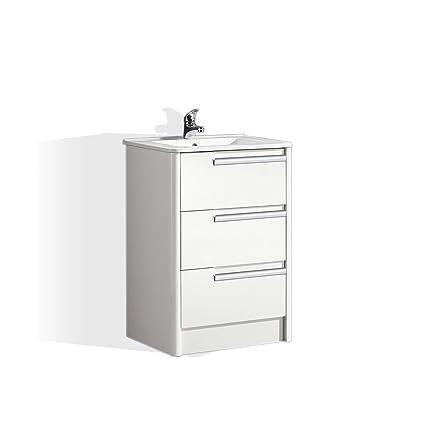 Ove Decors Modena 24 Bathroom Single Vanity In Glossy White