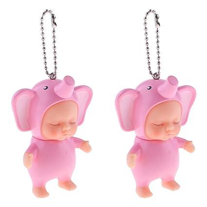 Homyl Mini Muñecas para Bebé / Doll Adorables / Llavero Mini ...