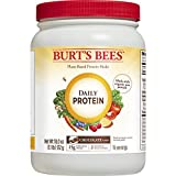 Burt's Bees Plant-Based Protein Powder – Vegetarian Pea Protein, Daily Protein, 18oz, Chocolate For Sale