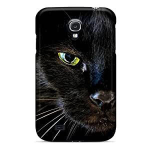 Shock-Absorbing Hard Phone Cover For Samsung Galaxy S4 With Unique Design Colorful Pantera Image LauraAdamicska