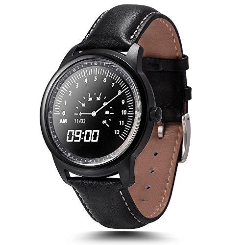 Leopard Shop LEMFO lme1 mtk2502 Reloj Bluetooth Sleep Monitor podómetro negro: Amazon.es: Relojes