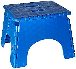 B Amp R Plastics 101 6b Blue Ez Foldz Step Stool Amazon Ca