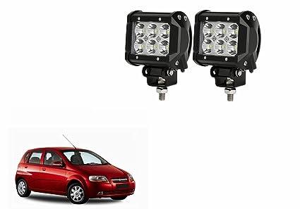 A2d Car Auxiliary 3x2led Fog Lights Set Of 2 Chevrolet Aveo Uva