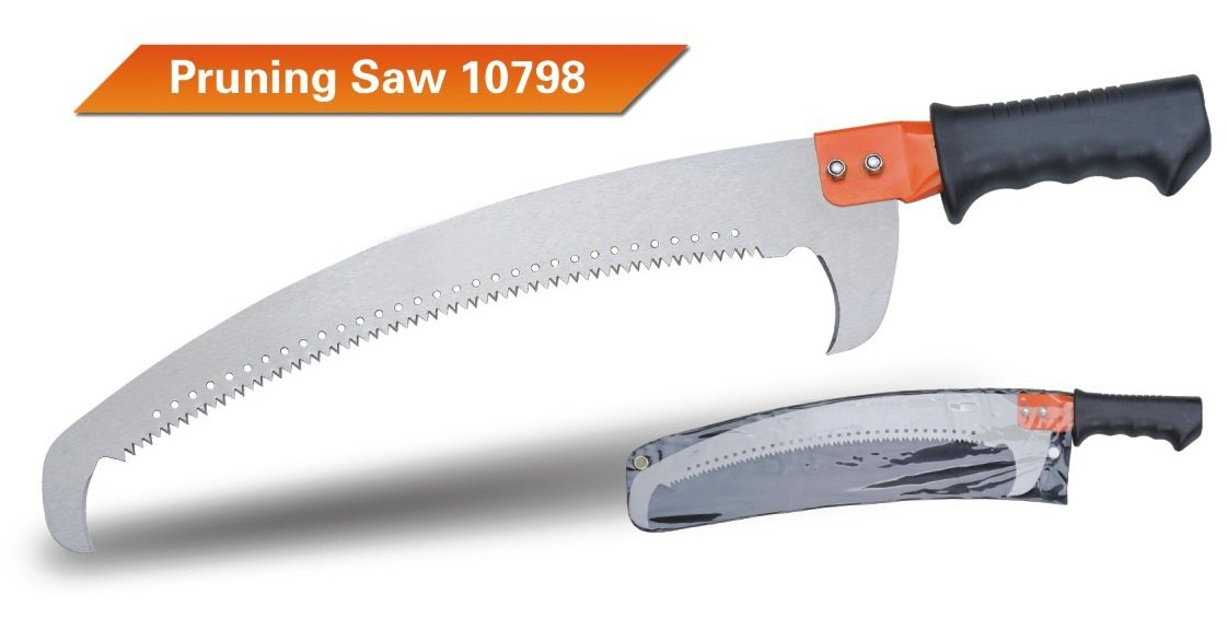 HEAVY-DUTY TREE PRUNING SAW(version 2) WITH EXTENDABLE POLE 1.33-2.43M GARDEN TOOL SHARPEST TOOLS CO. LTD