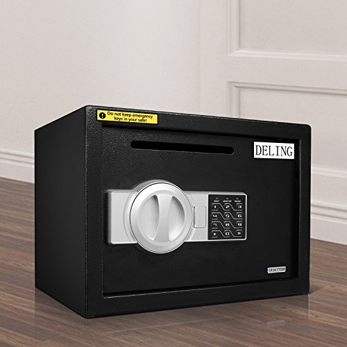 HYD-Parts Digital Security Safety Box,Money Gunsafe Cabinet Box for Home Office Hotel (25) by HYD-Parts (Image #7)