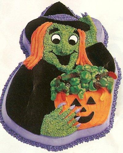 Wilton Cake Pan: Halloween Witch / Scarecrow /