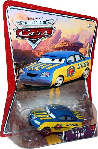 RACE OFFICIAL TOM #57 Disney / Pixar CARS 1:55 Scale THE WORLD OF CARS Die-Cast Vehicle by Unknown