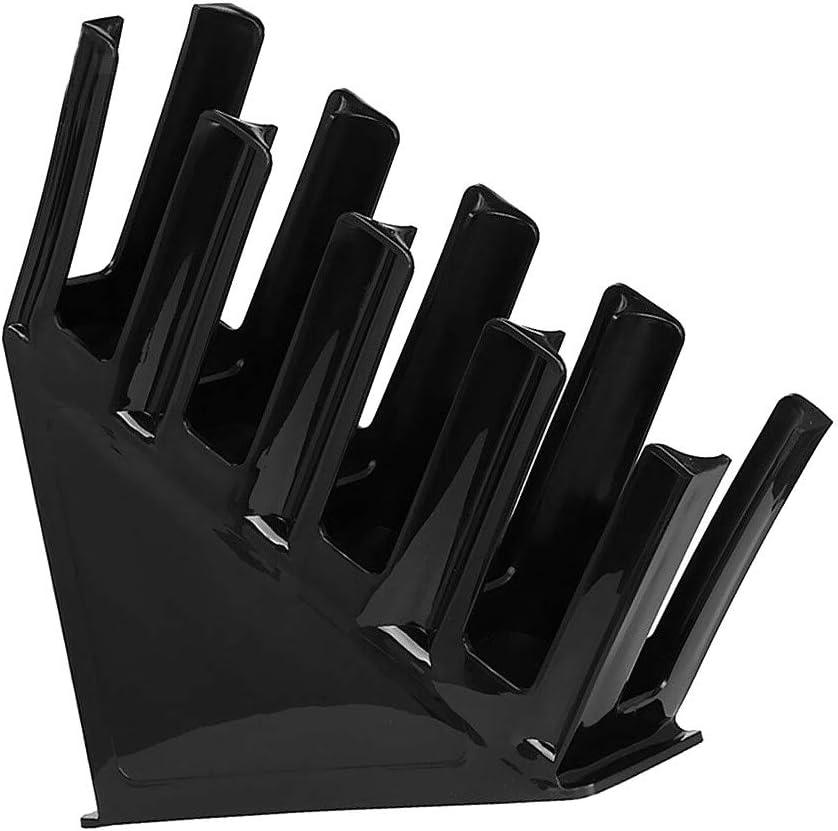 Dispensador De Vasos De Papel FSYH 4 Compartimentos Organizador De Almacenamiento De Taza Y Tapa De Caf/é Negro, Acr/ílico Tapa Display Holder