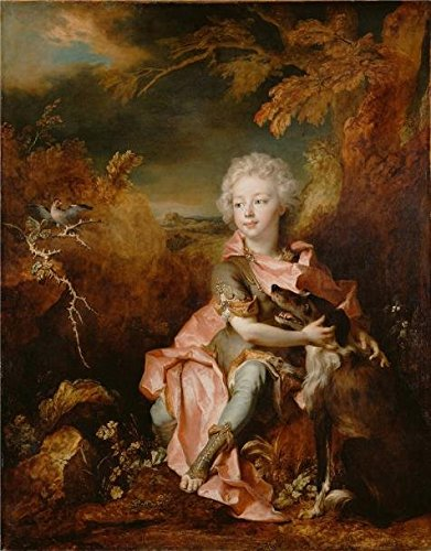 Betty's Full Service Costumes ('Portrait Of A Boy In Fancy Dress, About 1710 - 1714 By Nicolas De Largilliere' Oil Painting, 30x38 Inch / 76x97 Cm ,printed On High Quality Polyster Canvas ,this Cheap But High Quality Art Decorative Art Decorative Prints On Canvas Is Perfectly Suitalbe For Nursery Artwork And Home Gallery Art And Gifts)