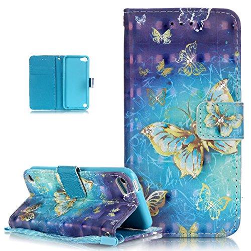 ikasus Glitter Diamond Colorful Butterfly