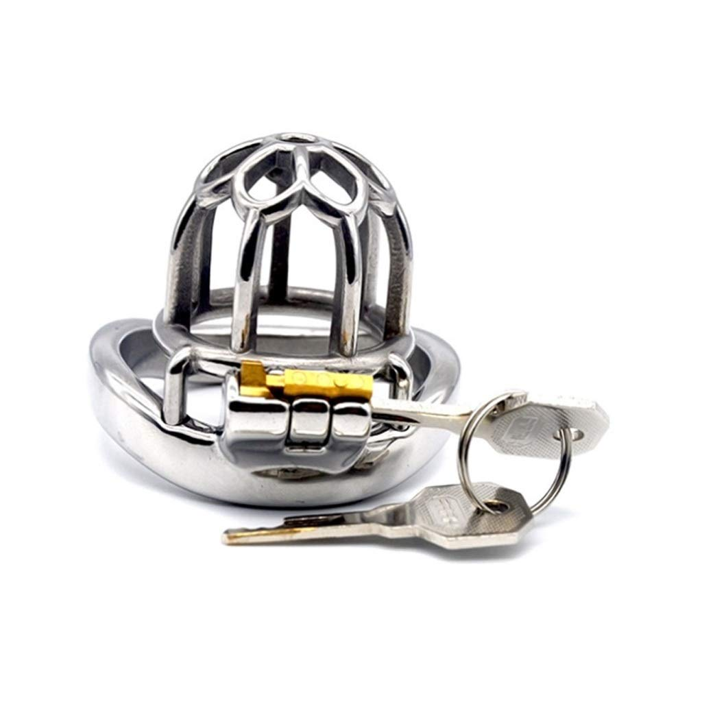 Medium CQ Chastity Lock Cage Appliances Male Health Supplies