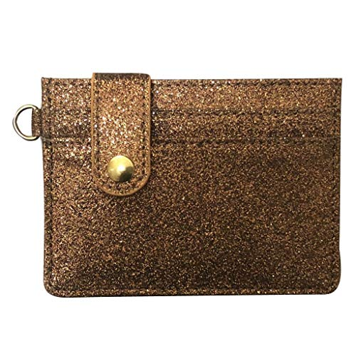 Women Fashion Credit Card Holder Buckle ID Holders Package Business Card
