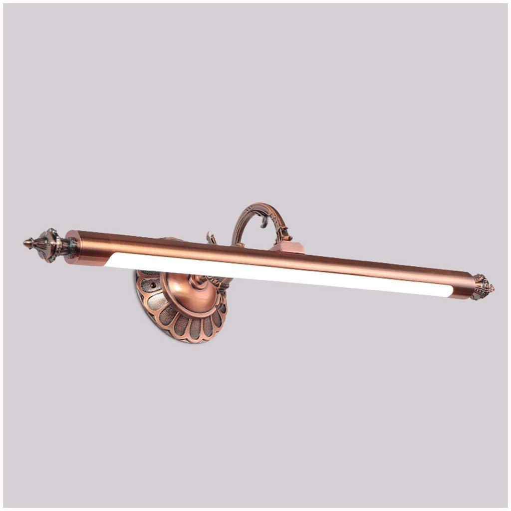 FJH Spiegel-vorderes Licht führte Badezimmer-Spiegel-Kabinett-Licht-wasserdichte Frisierkommode-Spiegel-Badezimmer-Toiletten-Lampe (Farbe   weißes Licht-59cm)