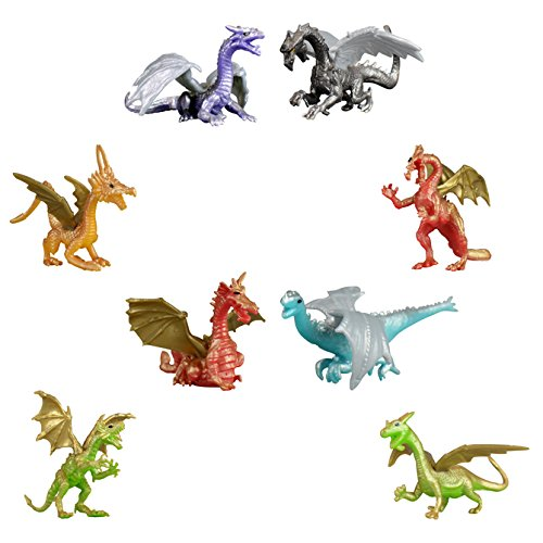DRAGON TOY FIGURES ~ (20 DRAGON FIGURINES) 2 INCH SIZE
