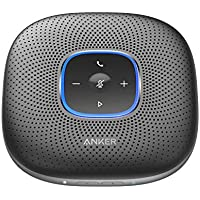 Anker PowerConf Bluetooth Speakerphone with 6 Microphones, Enhanced Voice Pickup, 24 Hour Call Time, Bluetooth 5, Conference Sp