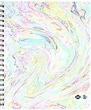 Denik Spiral Artist Sketchbook, Ice Cream Swirl, 75 blank sheets, 9''x11''