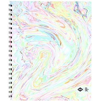 Amazon.com: Denik Spiral Artist Sketchbook, Ice Cream