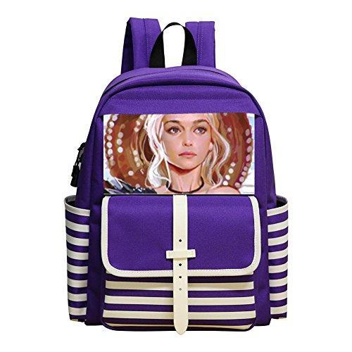 Daenerys Targaryen New Style Rucksack Trend School Backpak Book Bag Daypack