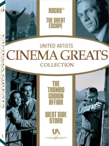(United Artist Cinema Greats Collection, Set 2 (The Great Escape / Rocky / West Side Story / The Thomas Crown Affair))