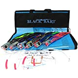 Black Bart Small Bill Fish Rigged Lure Pack