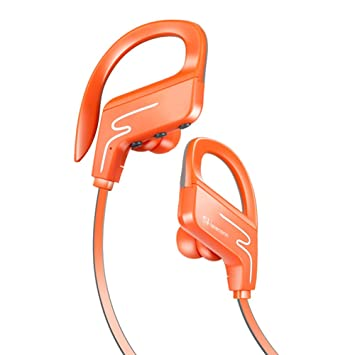 Shareconn - Auriculares con Bluetooth, inalámbricos intraurales, con reducción de ruidos, para practicar ejercicio, estéreo, con micrófono, para iPhone y ...