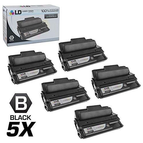 LD Compatible Toner Cartridge Replacement for Ricoh 402809 Type 120 (Black, 5-Pack) (Ricoh Aficio Sp 4100n)