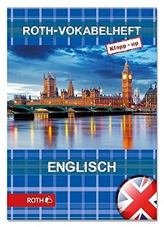 ROTH Vokabelheft Klapp-up Englisch Bridge (88792-1), DIN A5: Amazon ...