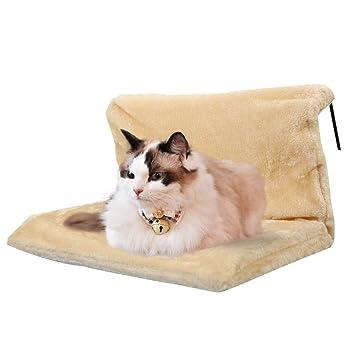 GCHOME Cama de Perro Cama del radiador del Perro del Gato, Cama extraíble Lavable Suave del ...