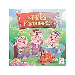 Classicos Em Quebra Cabecas Tres Porquinhos Em Portugues Do