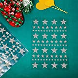 8 Sheet 632 Pieces Foil Star Stickers Reward Star