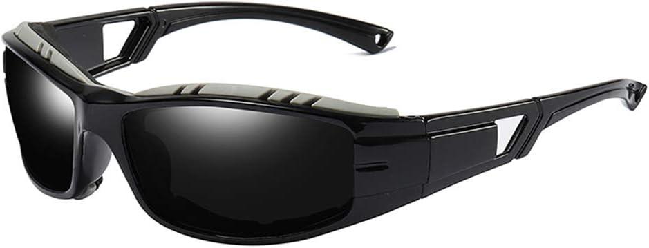 Gafas De Sol De La Motocicleta, con Protección UV Polarizados Deportes Gafas De Sol Máscaras Gafas TAC Hombres Mujeres Al Aire Libre Ciclismo Conducción Pesca,1
