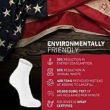 FoxRiver Wick Dry Classic White Quarter Crew Socks