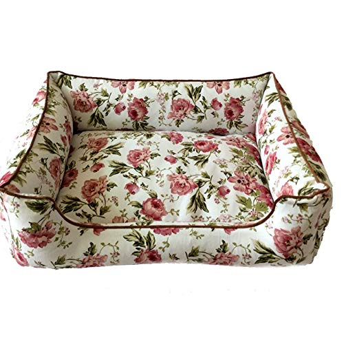 Amazon.com : VT BigHome Floral Pattern Dog Bed & Sofas Pet ...