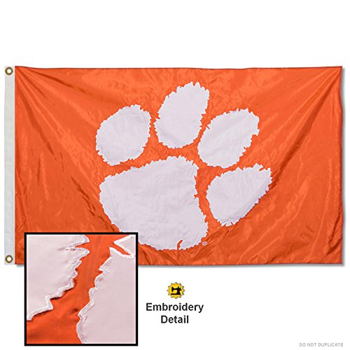 Clemson University Embroidered and Stitched Nylon