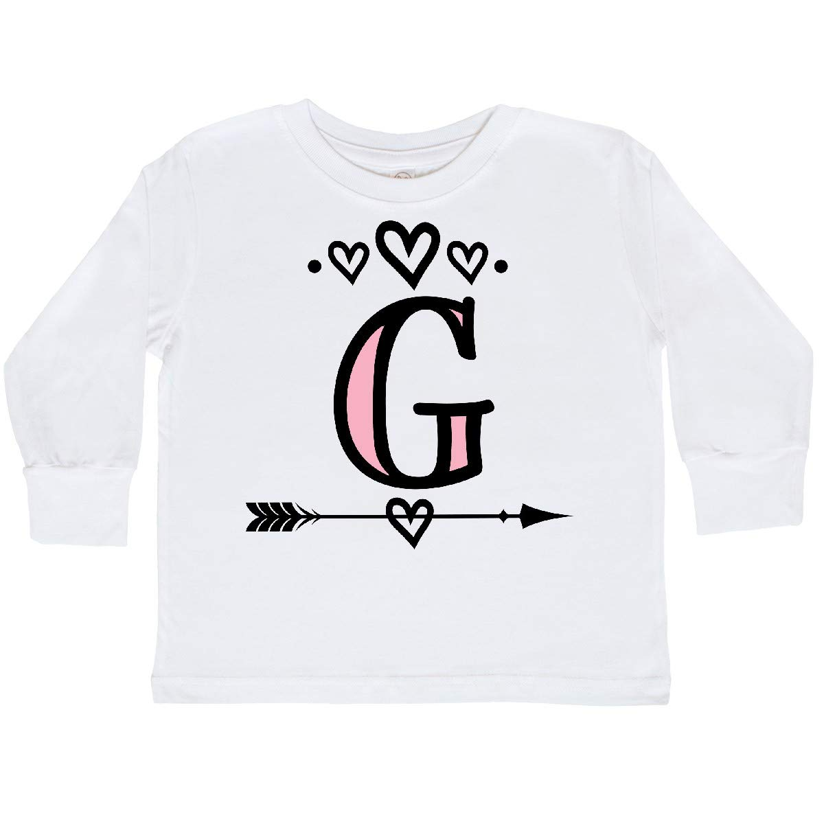 inktastic Letter G Monogram Tribal Arrow Toddler Long Sleeve T-Shirt