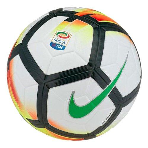 size 40 e993e 6fb63 Nike Ordem 5, Pallone Serie A 2017 2018, Misura 5, Bianco  Amazon.it   Scarpe e borse