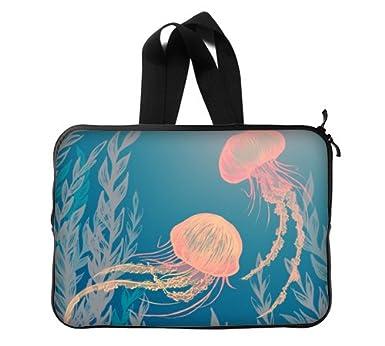 Tumblr medusas pintura nueva personalizar la funda de ordenador portátil de 13 pulgadas (doble lados
