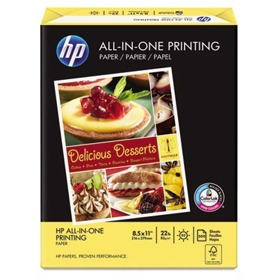 HP All-In-One Printing Paper - Letter - 8.5