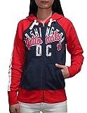 Womens Athletic Zip-Up Hoodie (Vintage Look) - WAS NATIONALS