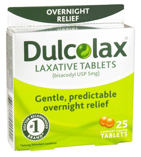 Dulcolax Laxative Tablets Comfort Coated
