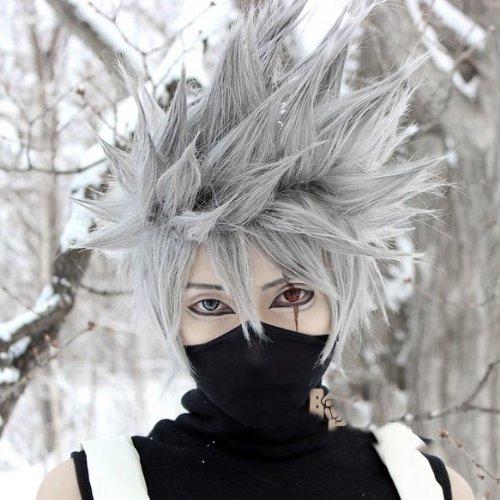 Cvlife Naruto Kakashi Hatake de alta calidad peluca: Amazon.es ...