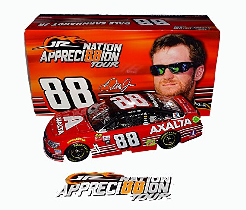 AUTOGRAPHED 2017 Dale Earnhardt Jr. #88 Axalta HOMESTEAD FINAL RACE (Retirement Last Ride) Hendrick Rare Signed Lionel 1/24 Scale NASCAR Diecast Car with COA (#02629 of only 14,697 produced!)