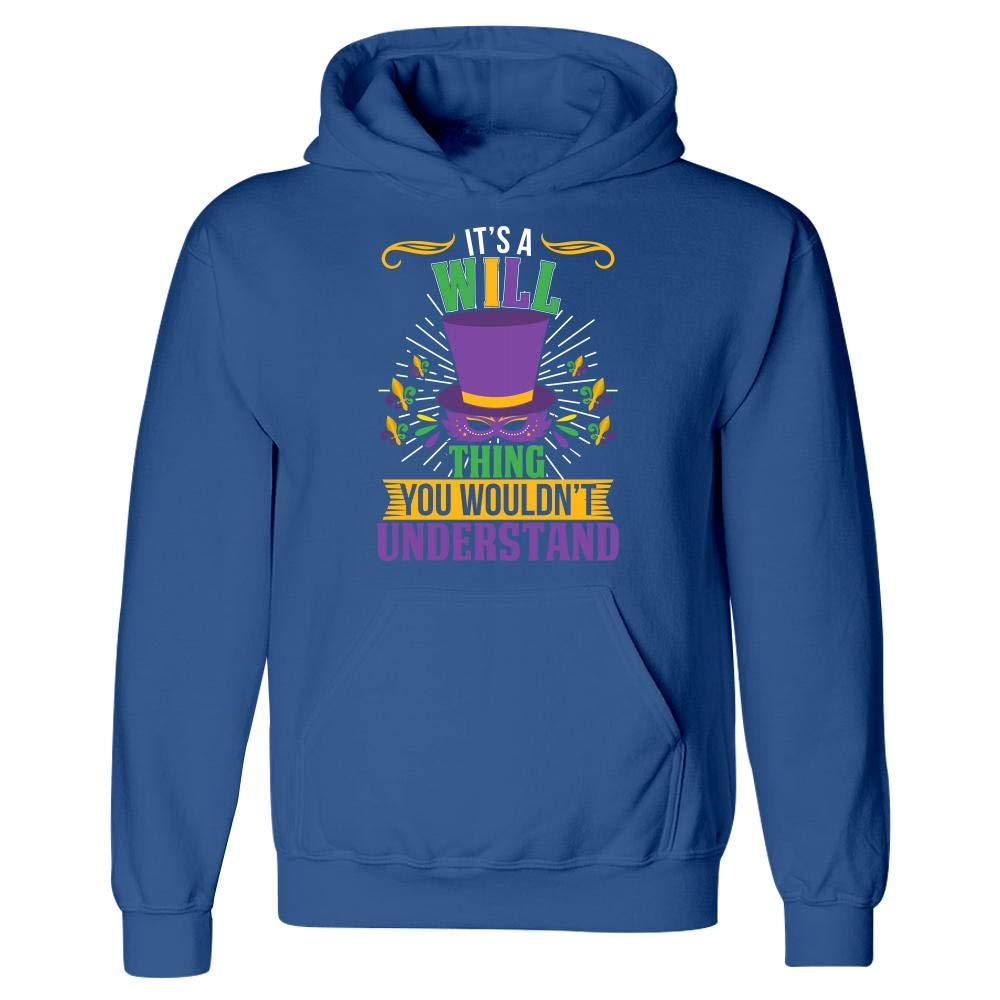 Hoodie Amazing Fan Store Its a Will Thing You Wouldnt Understand Mardi Gras Gift