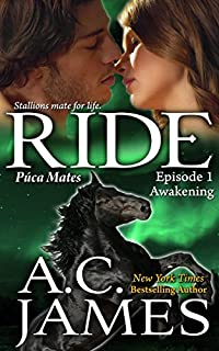 Ride: Bbw Paranormal Shape Shifter Romance by A.C. James ebook deal