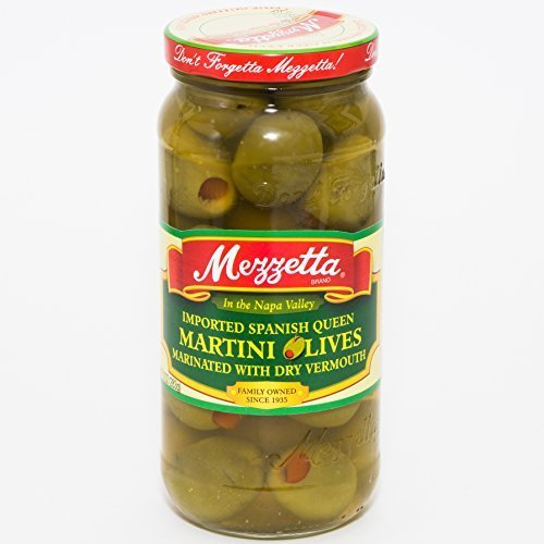Martini Olives - 10 ounce -- 6 per case. by Mezzetta