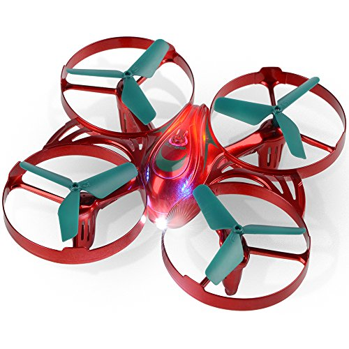 RC Quadcopter Mini Racing Drone - Coolmade Upgraded Quadcopter - 6 Axis Gyro RTF 4CH 2.4GHz RC Drone - Headless Mode Altitude Hold Helicopter for Training - Great Gift