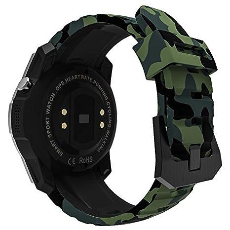 S958 Hombres Reloj Reloj Inteligente Monitor de frecuencia ...