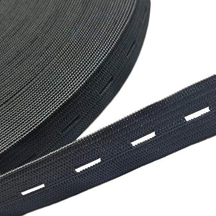 Chenkou Craft Timbre Noir ou blanc élastiques Bobine de fil à coudre Band  Cordon élastique plat cc461d0979c1