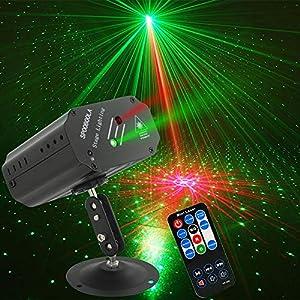 Flashandfocus.com 517vMoGoLxL._SS300_ Party Lights DJ Lights,Disco Stage lights Sbolight Led Projector Strobe lights dj equipment for Stage Lighting with…